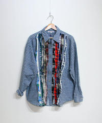 Rebuild by Needles:Ribbon Flannel Shirt - XL size #58