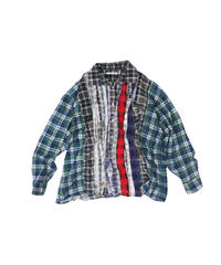 Rebuild by Needles Ribbon Flannel Shirt wide - onesize  #14