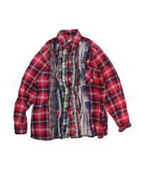 Rebuild by Needles Ribbon Flannel Shirt #17 - M size