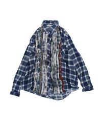 Rebuild by Needles:Ribbon Flannel Shirt - L size #56