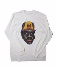 TAMANIWA:ball park  long sleeve tee - front