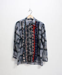 Rebuild by Needles:Ribbon Flannel Shirt - L size #60