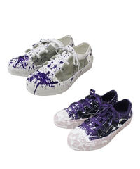 Needles - Asymmetric Ghillie Sneaker - paint