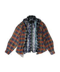 Rebuild by Needles Ribbon Flannel Shirt wide - onesize  #13