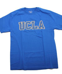 UCLA CHAMPION TEE  BLUE×YELLOW  -SIZE M -