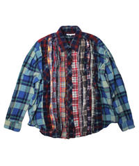 Rebuild by Needles Ribbon Flannel Shirt - onesize