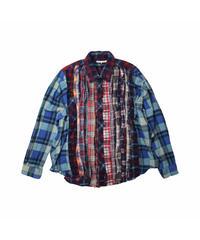 Rebuild by Needles:Ribbon Flannel Shirt - onesize #12