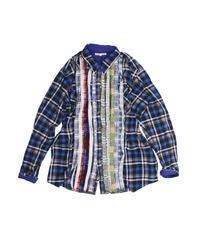 Rebuild by Needles:Ribbon Flannel Shirt  - L size #36