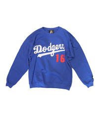 used:Los Angeles Dodgers #16 HIDEO NOMO long sleeve sweat- size M #3