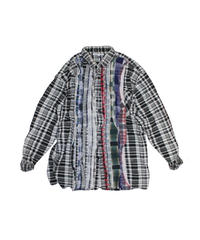 Rebuild by Needles Ribbon Flannel Shirt - L size #22