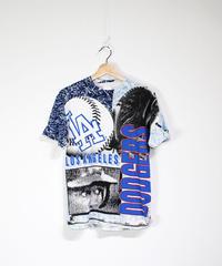 used:Los Angeles Dodgers print tee