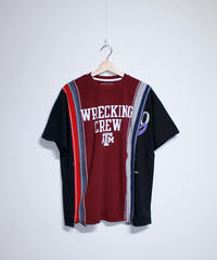Rebuild by Needles:7 Cuts S/S Tee College Wide #38