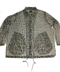 Needles Coach Jacket -Mesh Leopard  - size M -