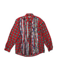 Rebuild by Needles:Ribbon Flannel Shirt - M size #7