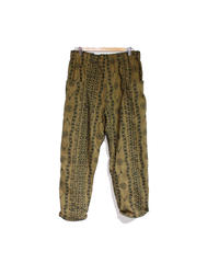 South2 West8:Army String Pant Printed Flannel Camouflage -  SKULL&TARGET