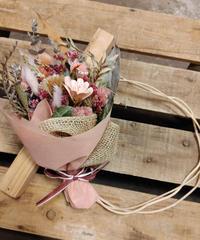 ブーケットリース ピンク  税込¥3850 送料¥1210