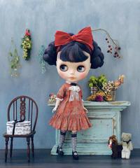 [予約完成品]  プチギャマンドレス(ペールガーデン赤) / Petit gamin dress ( Red color)