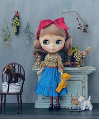 [予約完成品/Pre-order] ショコラティエールドレス イン ザ サマータイム  / Chocolatier dress in the summertime