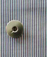 [予約商品]  極細ストライプ (青x赤)  ハノンオリジナルファブリック 20cm x 50cm