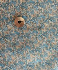[予約販売] ペールガーデン 水色  ハノンオリジナルファブリック 20cm x 50cm