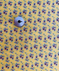 [予約販売] 小花柄 黄色  ハノンオリジナルファブリック 20cm x 50cm