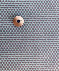 [予約販売] ツリー 青色  ハノンオリジナルファブリック 20cm x 50cm