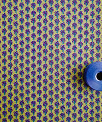 [02/26 予約販売] ツリー マスタード色 ハノンオリジナルファブリック 20cm x 50cm
