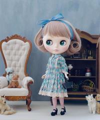 [10/22 予約販売 / 完成品]  ガーデンドレス 青色