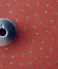 [予約販売] ナッツ 赤色  ハノンオリジナルファブリック 20cm x 50cm