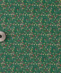 [予約販売] フルタリングペタル 緑色  ハノンオリジナルファブリック 20cm x 50cm