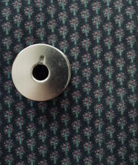 [ 予約商品]  ツリー(黒色)  ハノンオリジナルファブリック 20cm x 50cm
