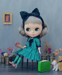 [予約完成品]  プチギャマンドレス(トロワ緑) / Petit gamin dress ( Green color)