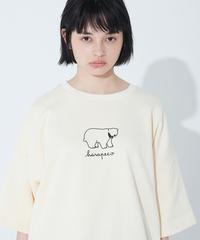 SLUMBER BEAR LOGO TEE【HP19-TS06】