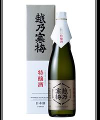 越乃寒梅 生酛系酒母柱焼酎仕込 特醸酒  720ml