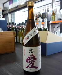 30BY忠愛・美山錦 中取り 純米吟醸無濾過生原酒 720ml