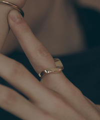STRAIN RING (gold plated)