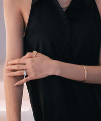 YANTORAS RING  (gold plated)