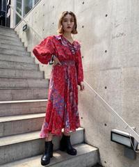 Flower print dress  H043-5