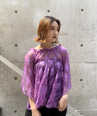 LACE  DESIGN  TOPS  H051-11