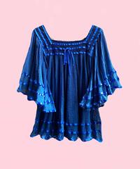 cotton smock blouse