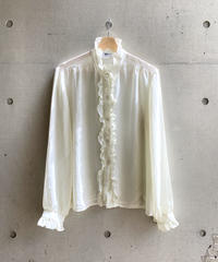 vintage  frill  blouse