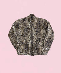 leopard silk jacket