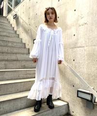 chiffon frill dress  H043-9