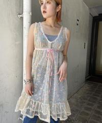 vintage  see-through  tunic