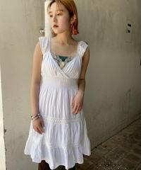 lace no-sleeve tunic