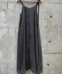 dot  pattern  camisole one-piece