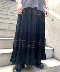 gather  design  long  skirt  H044-2