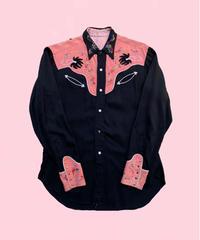 vintage western shirt     H0008