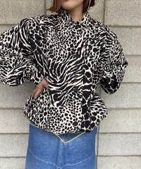 Dalmatian silk jacket