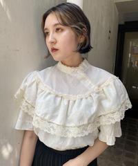cotton frill blouse